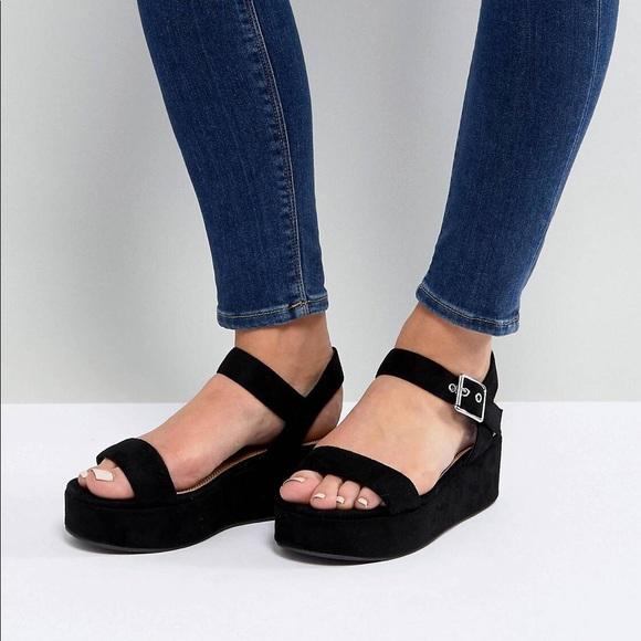 475a17d367a3 ASOS Shoes - ASOS Toucan Wide Fit Platform Sandals